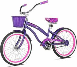 Kent Tiki Bay 20-Inch Kid's Cruiser Bicycle in Purple/Pink b