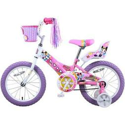 TITAN GIRLS' FLOWER PRINCESS 16-INCH BMX BIKE