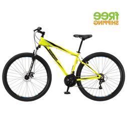 "29"" Mongoose Men's Torment Mountain Bike, Yellow"