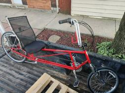Easy Racer Tour Easy Classic EX Red Recumbent Bike