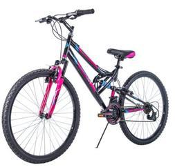 "Huffy Trail Runner 26"" Women's Mountain Bike - Black/PInk"