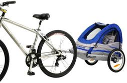 Schwinn Trailblazer Single Bike Trailer,Blue/Gray,16-Inch