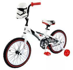 "Training wheels Bike Sturdy steel Star Wars Stormtrooper 16"""