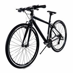 ZF Bikes - Transit Men - Black Hybrid Bike