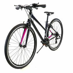 ZF Bikes - Transit Women - Black Hybrid Bike