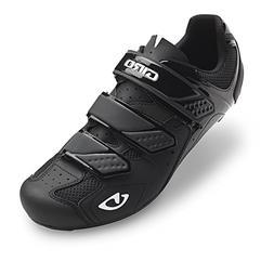 Giro Men's Treble II Road Bike Shoes Matte Black Size 44