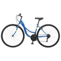 Pacific 264017P WoMens Trellis 700C Hybrid Bike, Blue