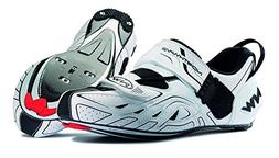 Northwave Triathlon Tribute White/Black Size 48 Cycling Shoe