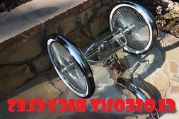 Tricycle Trike Conversion Kit Single Spe