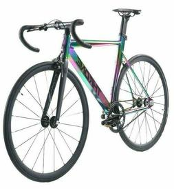 Throne TRKLRD 2020 Fixed Gear Single Bicycle Bike Neo Chrome