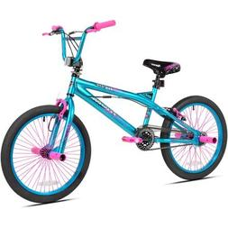 "Kent.. 20"" Trouble Girls' Bike, Aqua/Pink"