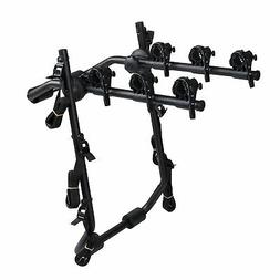 Overdrive Sport 3-Bike Trunk Mounted Bicycle Carrier Rack -