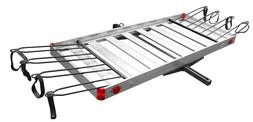 Tow Tuff TTF-2762ACBR 2-in-1 Aluminum Cargo Carrier with Bik