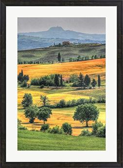 Tuscan Vertical Switchbacks by Robert Goldwitz Framed Art Pr