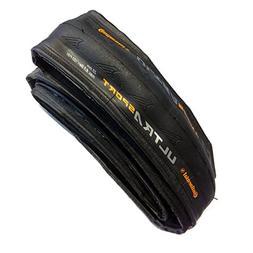 Continental Ultra Sport II Fold Bike Tire, Black, 700cm x 25