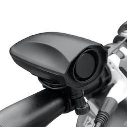 Ultra-loud Speaker Black Electronic Bicycle 6 Sounds Alarm B