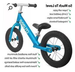 Cruzee Ultralight Air Balance Bike Kids Blue NEW