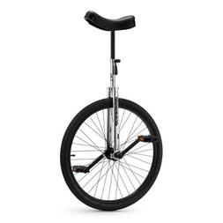 Torker Unistar CX Unicycle, Chrome/Black, 24-Inch/One Size