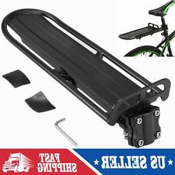 Universal Back Rear Bicycle Rack Aluminum Bike Cycling Cargo