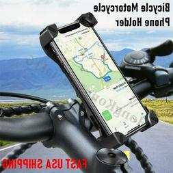 Universal Cell Phone Holder Mount Adjustable Motorcycle Bike