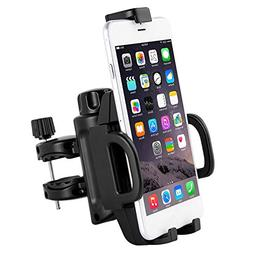 Adjustable One-Button Release Motorcycle Phone Mount, 4 Stur