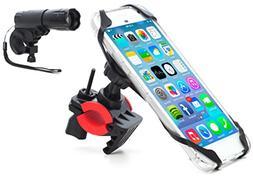 Bike Mount, Bike light combo Universal Cell Phone Bicycle Ra