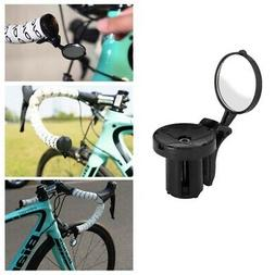 New 2Pcs Universal Rotary Handlebar Glass Rear View Mirror for Road Bike Bicycle
