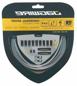 Jagwire Universal Sport Shift Cable Kit Braided White