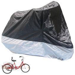 Universal Waterproof Bicycle Tricycle Bike Cover Outdoor Rai