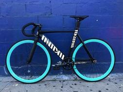 Unknown Bike Co Singularity Black Track Fixed Gear Bike by M