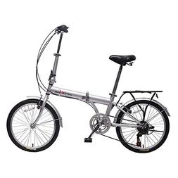 "IDS Home unYOUsual U Transformer 20"" Folding City Bike Bicyc"