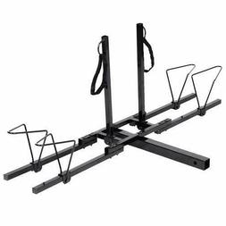 "Upright 2 Mountain Bike Rack Hitch Carrier 2"" Rear for SUV V"