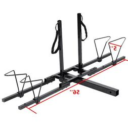 """New Upright 2 Mountain Bike Rack Hitch Carrier 2"""" Rear for S"""