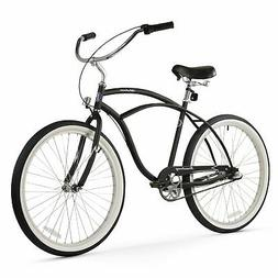 Firmstrong Urban Man 3-Speed Beach Cruiser Bicycle, 26-Inch,