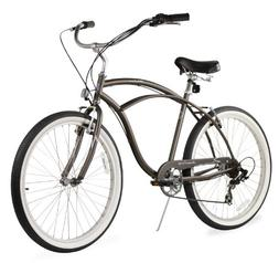 Beachbikes Men's Urban Man 7 Speed Beach Cruiser Bike