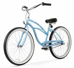 Firmstrong Urban Lady Three Speed Beach Cruiser Bicycle, 24-
