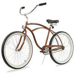 "Firmstrong Urban Man Single Speed,  Brown - Men's 26"" Beach"