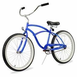 Firmstrong Urban Man Single Speed Beach Cruiser Bicycle, 24-