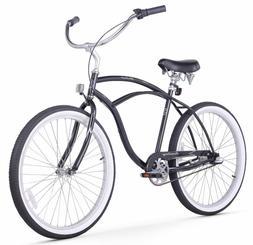 Firmstrong Urban Man Three Speed Beach Cruiser Bicycle, 26-I