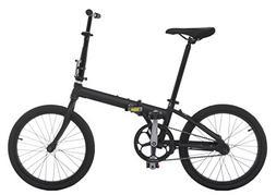Vilano Urbana Single Speed Folding Matte Black Bike Lightwei