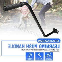 US Kids Children Bike Learning Push Grab Handle Bar Bicycle Safety Pole