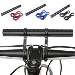 Bicycle Cycling Handle Bar Lamp Bracket Holder Extender Mount Extension CB^D