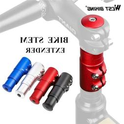 US Bicycle Handlebar Riser Head Up Adapter Fork Stem Extende