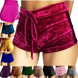 Sexy Women Summer Pants Stylish High Waist Shorts Short Belt