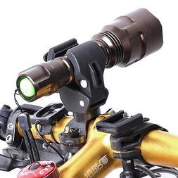 USB Rechargeable Bike Light Kit - LED Bicycle Headlight And