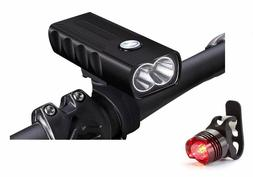 Lumintrail USB Rechargeable 1000 Lumen LED Bike Light Headli