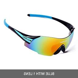 WOLFBIKE UV400 Cycling Glasses Mountain Bike MTB Sunglasses