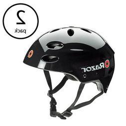 Razor V17 Youth Skateboard Scooter Bike Sport Helmet, Glossy