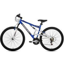 """29"""" Genesis V2900 Men's Mountain Bike, Blue/White"""