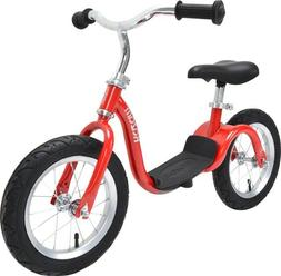 KaZAM v2s No Pedal Balance Bike, 12-Inch, Metallic Red